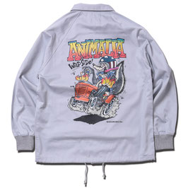 ANIMALIA SKUNK FINK COACH JACKET
