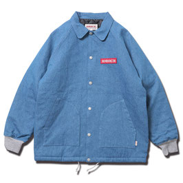 ANIMALIA DENIM HEAVY COACH JACKET