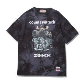 ANIMALIA  COUNTER ATTACK Tie dye