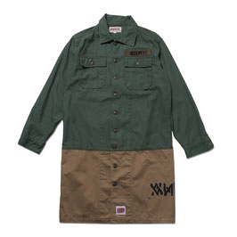 (ARCHIVE COLLECTION)ANIMALIA Long Length Army Shirts