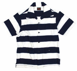 (ARCHIVE COLLECTION)O.C CREW STRIPED PILE SHIRT