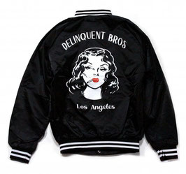 Delinquent Bros Smoke Girl Award Jacket