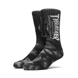 HUF X THRASHER TDS CRYSTAL WASH CREW SOCKS