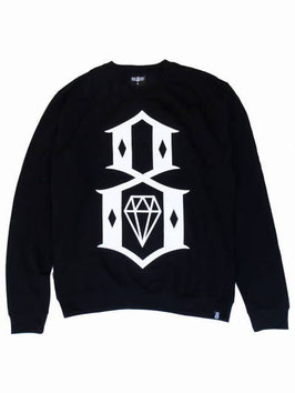 REBEL8 STANDARD ISSUE LOGO CREWNECK