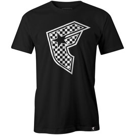 (ARCHIVE COLLECTION)FAMOUS STARS AND STRAPS CHECKER BADGE TEE