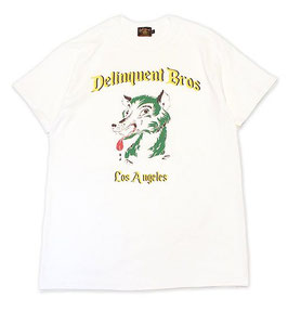 Delinquent Bros H.WOLF S/S TEE
