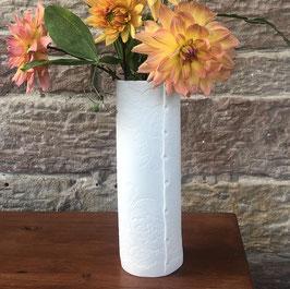 Porcelain Lace White Vase