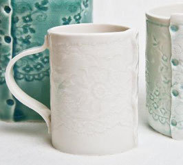 Small Porcelain Lace Expresso Cup