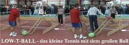 LOW-T-BALL Rampe