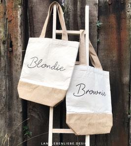 Beachbag Blondie & Brownie