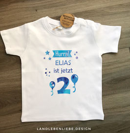 Geburtstagsshirt Hurra