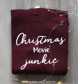 Sweater: Christmas Movie Junkie