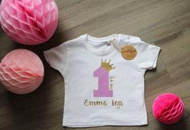 Geburtstagsshirt Krone