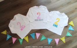 Individuelles Geburtstagsshirt