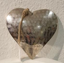 Metall- Herz  Muster