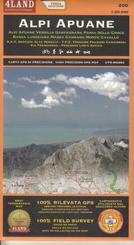 Alpi Apuane Auflage 2017 (Nr. 200) 1:25.000