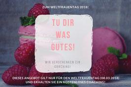 Coaching Gutschein zum Weltfrauentag!