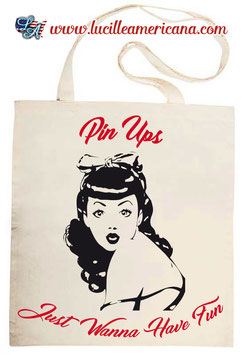 Tote Bag Pin Up Fun