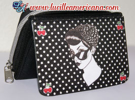 Porte monnaie Pin Up Gang black
