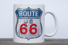Mug Route 66 Shield