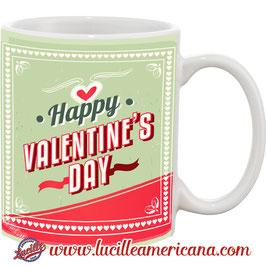Mug Happy Valentine Vintage