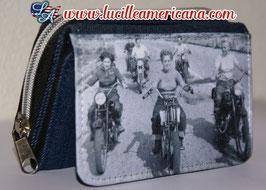 Porte monnaie Vintage Rider Girls
