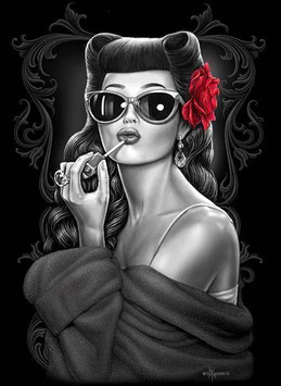 Mug Pin Up Rose