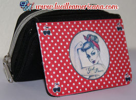 Porte monnaie Pin Up Gang red