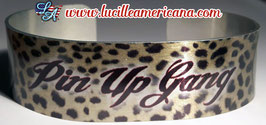 Bracelet Pin Up Gang leopard