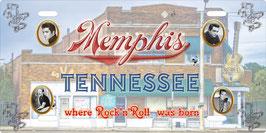 Plaque Immat Memphis