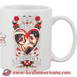 Mug St Valentin Till Death