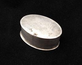 Petite boîte à opium ovale en paktong