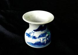 Petit cendrier à opium en porcelaine
