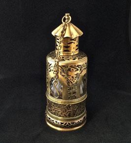 Belle lampe de fumerie en laiton ajouré