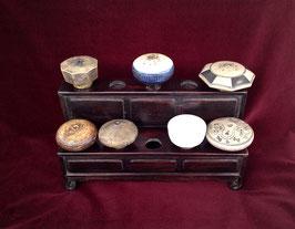 Porte-fourneaux à opium à dix trous