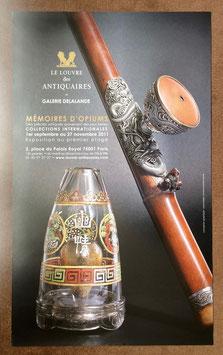 """Affiche de l'exposition """" Mémoires d'opium """""""