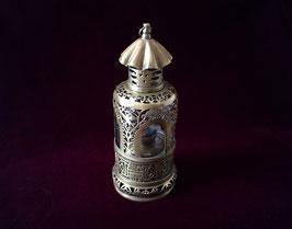 Lampe à opium de fumerie en laiton ajouré