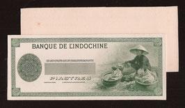 Épreuves unifaces du billet d'Indochine de 50 piastres (1941)