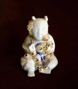 Bébé en porcelaine provenant de l'épave de Ca Mau (époque Yongzheng, c. 1725)