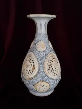 """Vase """" yuhuchun """" provenant de l'épave de Hoi An (XVè siècle)"""