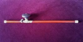 """Rare pipe à opium """"de femme"""" en bambou et baïtong #14"""