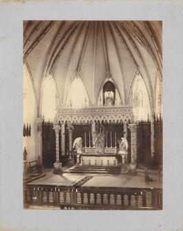 Louis Jourdain, Nouméa : intérieur de la Cathédrale saint-Joseph (c. 1897)