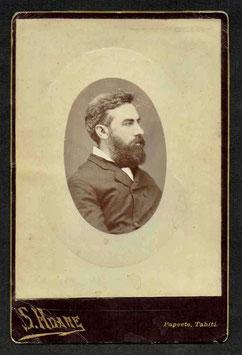 Susan Hoare, Papeete (c. 1880) Portrait d'homme.