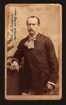 """CDV : Walter F. Dufty, Nouméa : """" Gust. Le Dépensier capitaine au long cours """" (1885)"""