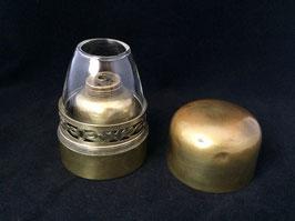 Rare lampe à opium de voyage