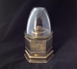 Lampe à opium hexagonale en laiton