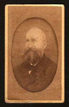 """CDV : Walter F. Dufty, Nouméa : """" Monsieur Rousseau """" (c.1880)"""