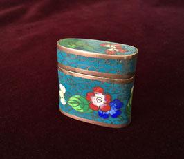 Boîte à opium en émaux cloisonnés #3