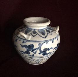 Petit pot à trois anses provenant de l'épave de Hoi An (XVè siècle)