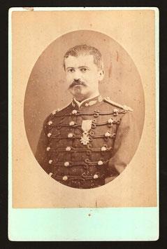 Allan Hughan, Nouméa : portrait d'un gendarme (c. 1875)